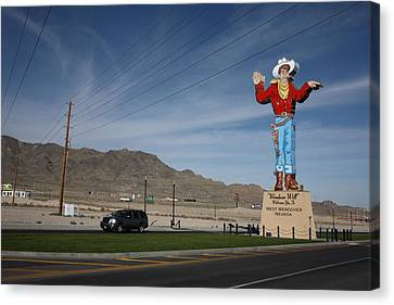 West Wendover Nevada Canvas Print by Frank Romeo