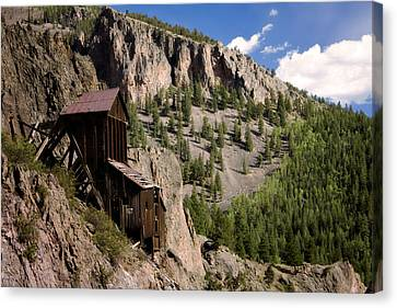West Willow Creek Mine Canvas Print by Lana Trussell
