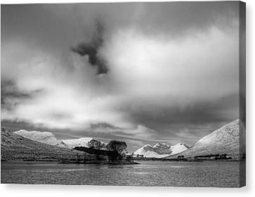 Wester Ross Winter  Canvas Print by Derek Beattie