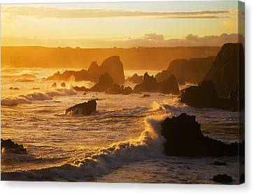 Westerly View, From Bunmahon, The Canvas Print by Panoramic Images