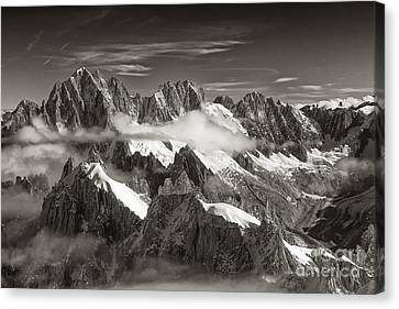 Western Alps - Panorama Canvas Print