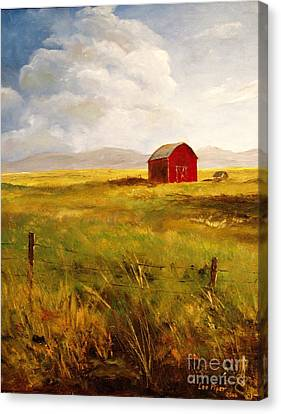 Western Barn Canvas Print