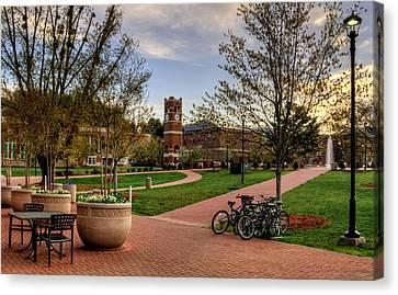 Western Carolina University Campus Canvas Print