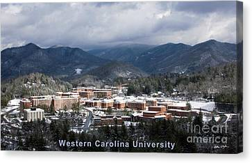Western Carolina University Winter  Canvas Print