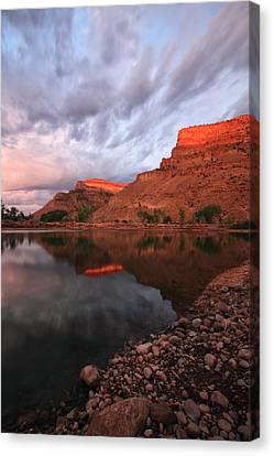 Canvas Print featuring the photograph Western Colorado by Ronda Kimbrow