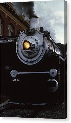 Western Maryland Scenic Railway Canvas Print by Retro Images Archive