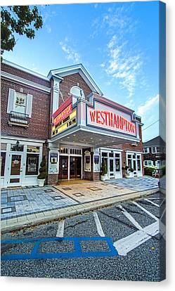 Westhampton Beach Performing Arts Center Canvas Print