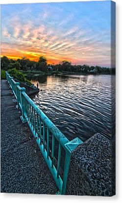 Westhampton-quogue Bridge Canvas Print