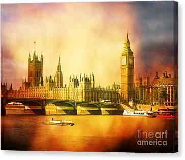 Westminster 2 Canvas Print by Heidi Hermes