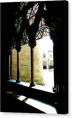 Westminster Abbey Courtyard Canvas Print