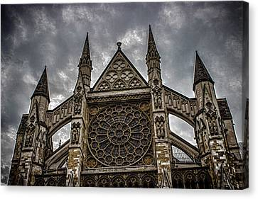 Westminster Abbey Canvas Print - Westminster Abbey by Martin Newman