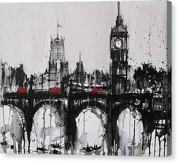 Westminster Haze 2 Canvas Print