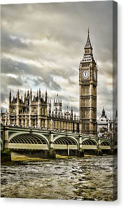 Westminster Canvas Print by Heather Applegate