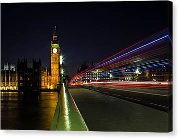 Urban Exploration Canvas Print - Westminster by Martin Newman
