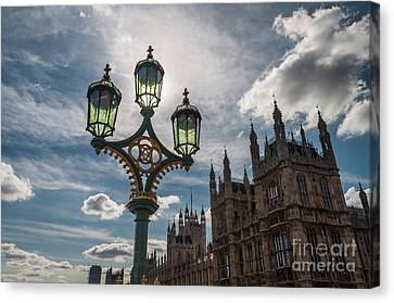 Canvas Print featuring the photograph Westminster by Matt Malloy