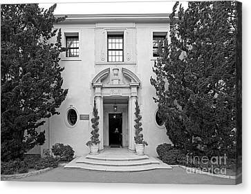 Westmont College Kerrwood Hall Canvas Print by University Icons