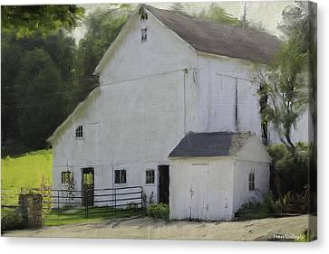 Westport Barn Canvas Print
