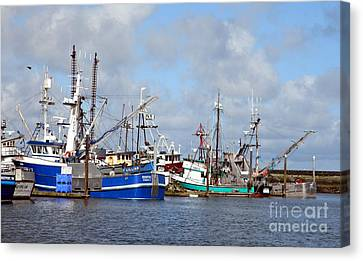 Westport Fishing Boats 2 Canvas Print