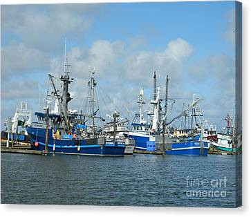 Westport Fishing Boats Canvas Print