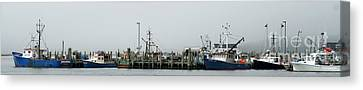 Westport Point Canvas Print by Rosemary Aubut