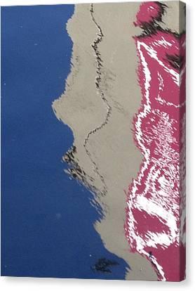 Abstract Canvas Print - Wet 2 by Ingrid Van Amsterdam