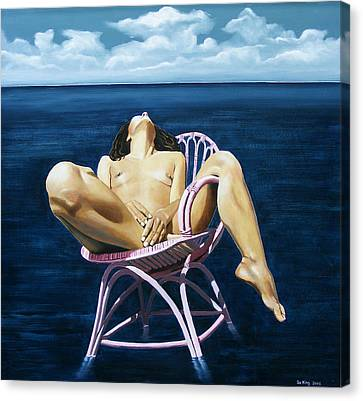 Wet Dream Canvas Print by Jo King