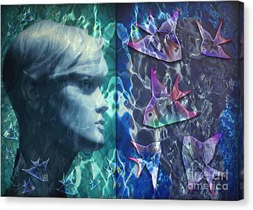 Wet Fantasies Canvas Print by Rosa Cobos