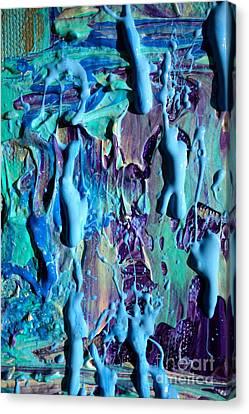 Acrylic Canvas Print - Wet Paint 109 by Jacqueline Athmann