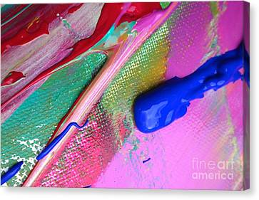 Wet Paint 31 Canvas Print