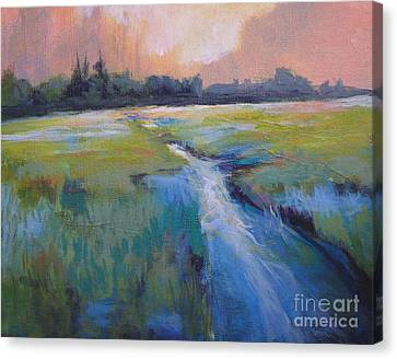 Wetland Canvas Print by Melody Cleary