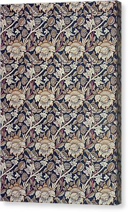 Wey Design Canvas Print by William Morris