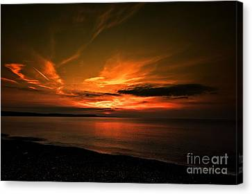 Weymouth  Golden Sunrise Canvas Print by Stephen Melia