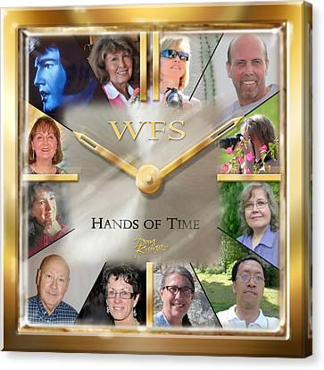 Wfs Hands Of Time Canvas Print by Doug Kreuger