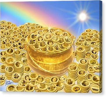 Wfs Pot O' Gold Canvas Print by Doug Kreuger
