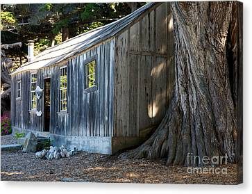 Canvas Print featuring the photograph Whaler's Cabin by Vinnie Oakes