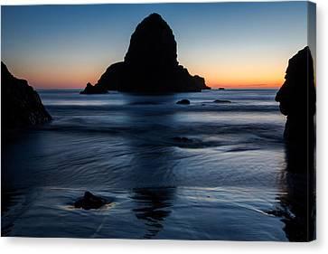 Whaleshead Beach Sunset Canvas Print by John Daly