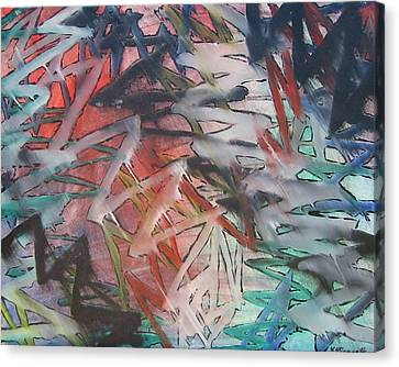 Wham Pow Canvas Print