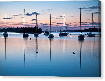 Canvas Print - Wharf Blue Hour by Lee Costa