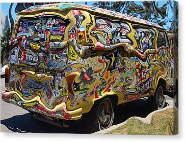 What A Long Strange Trip Canvas Print