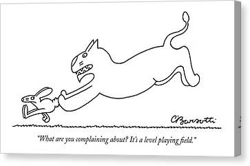 What Are You Complaining About? It's A Level Canvas Print