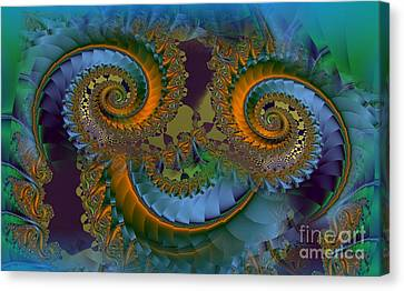 What Big Eyes You Have Canvas Print by Doris Wood