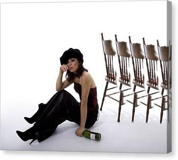 What Chair Canvas Print by Diana Hughes