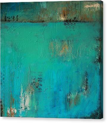 Blue Lagoon Canvas Print by Lauren Petit