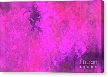 What Do You Want Pink Canvas Print
