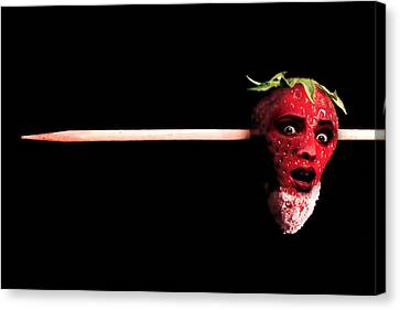 What Happens To Bad Strawberries Canvas Print