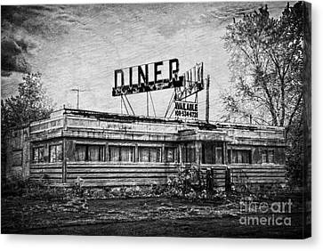 Canvas Print featuring the photograph What Is On The Menu by Debra Fedchin