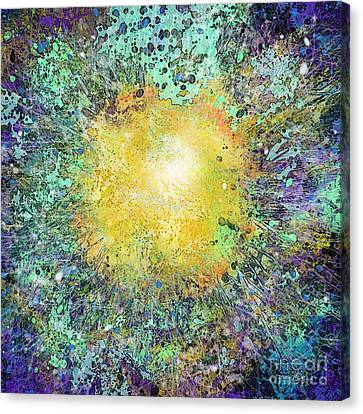 What Kind Of Sun Vii Canvas Print