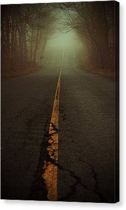 What Lies Ahead Canvas Print by Karol Livote