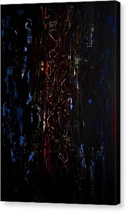 Horrible Canvas Print - What Lies Beneath by Robert Horvath