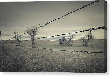 What Once Was Canvas Print by Everet Regal
